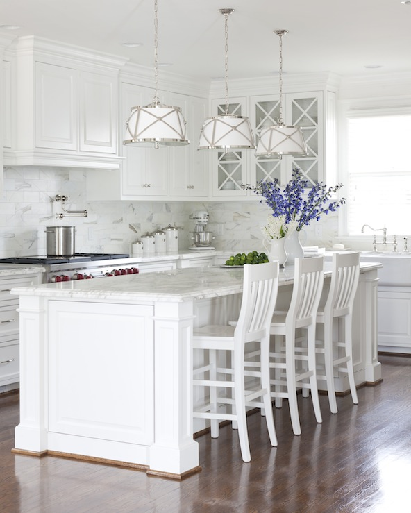 See it here on the cabinetry of this kitchen notice how it creates a