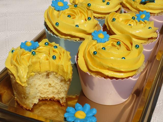 Cup-cakes de vainilla Ana Sevilla