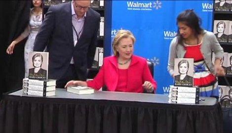 Hard Choices Book Signing
