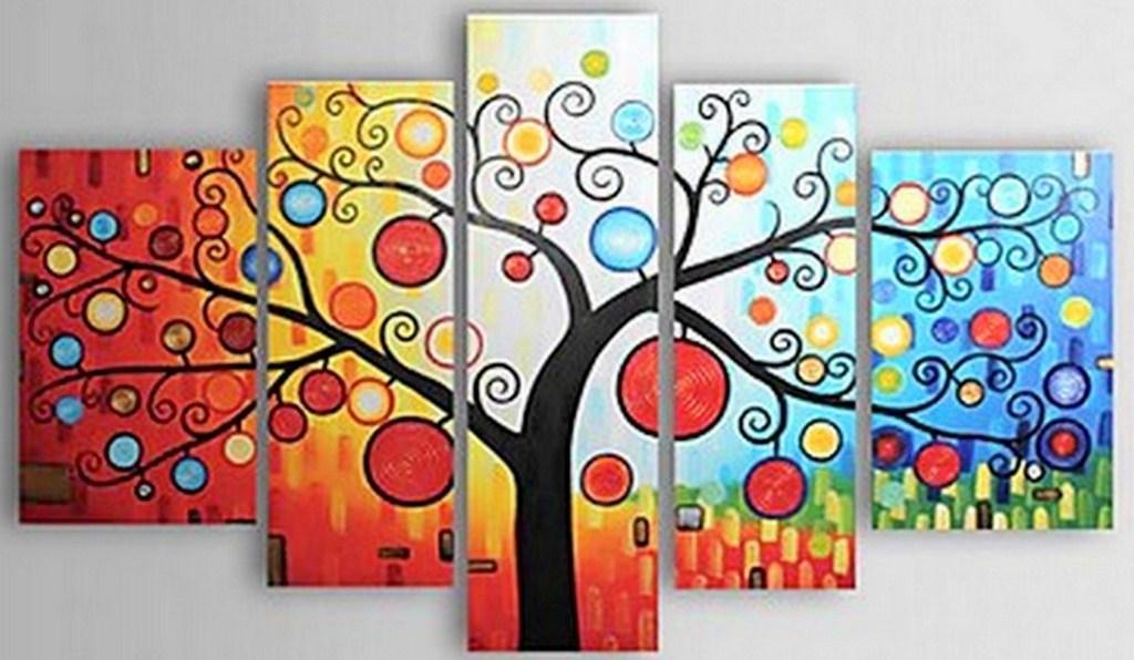 Cuadros pinturas oleos cuadros bonitos abstractos for Cuadro en lienzo modernos
