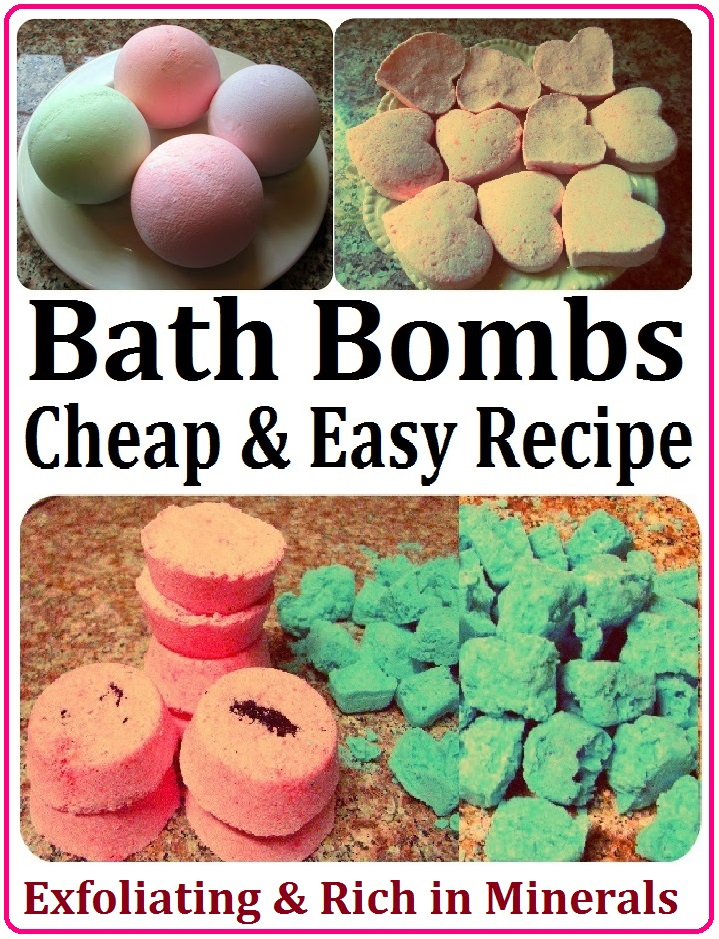 Maria sself chekmarev diy bath bombs fizzies recipe for Easy to make product ideas