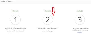 Cara Claim Site pada Alexa