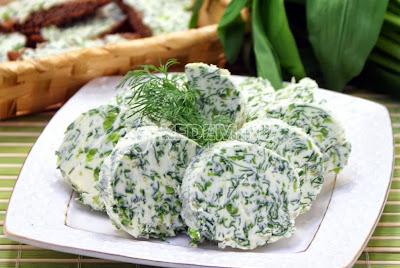 Масло с зеленью
