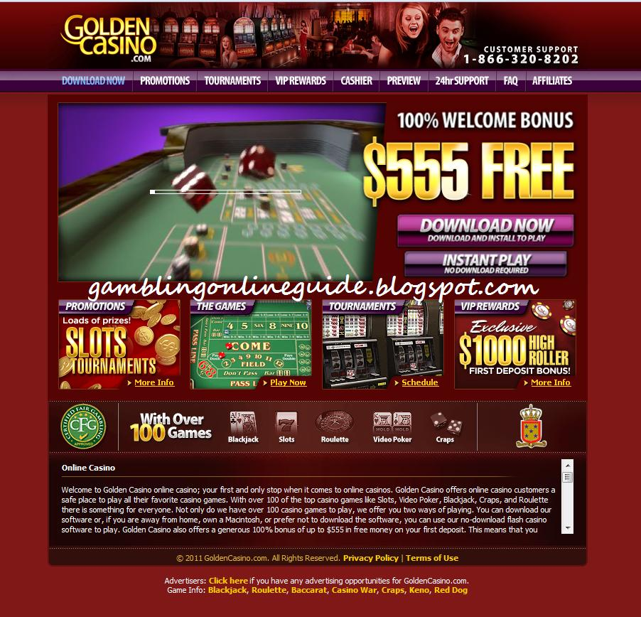 golden casino online starbrust