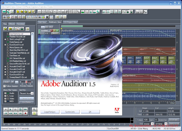 Adobe audition 1.5 portable FULL