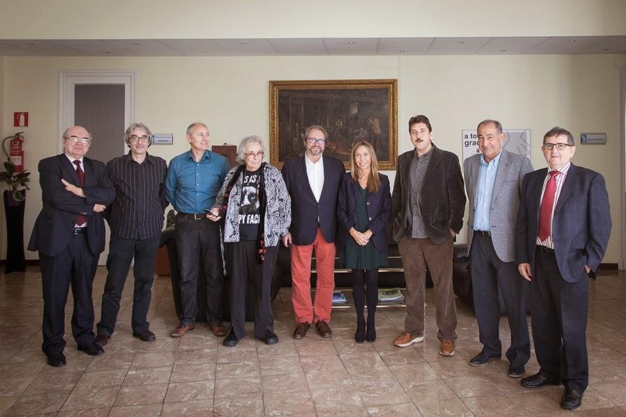 Diputación de Palencia Jurado con Isabel Steva colita y alejandro Mari Escalera