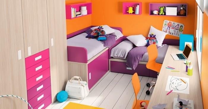 Dormitorio infantil en espacio peque os como decorar - Dormitorios para ninos ...
