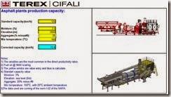 Capacidad de producción de asfalto