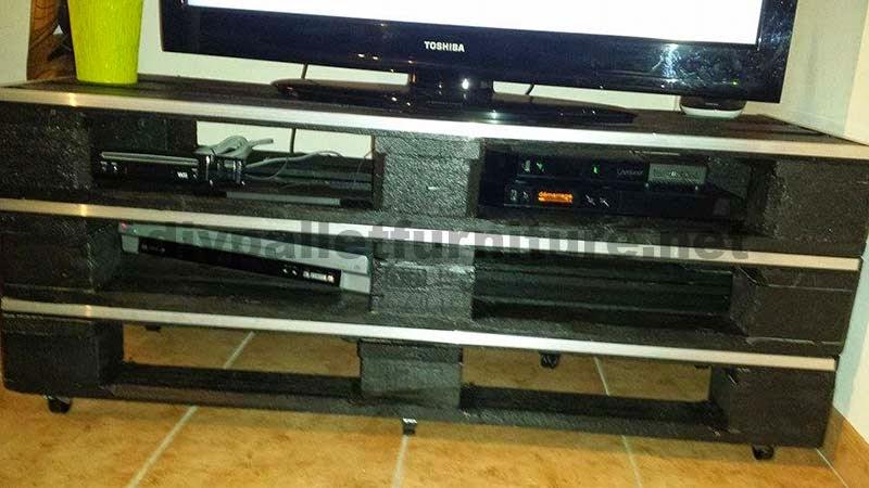 Mueblesdepaletsnet Como hacer un mueble para la TV rpido y fcil