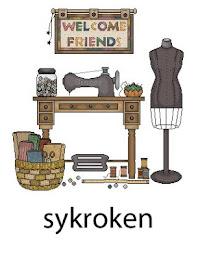 Jeg er medlem av Sykroken