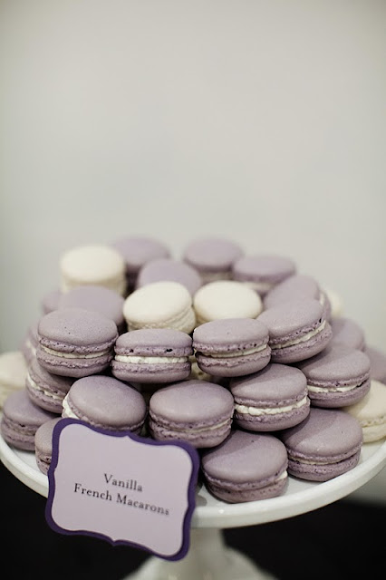 French Macarons for a Modern Wedding at the Walker Art Center