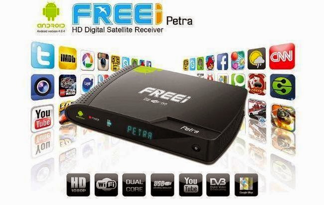 FREEI PETRA HD IPTV SAT MODO CORRETO DE ATUALIZAR COM RESET TOTAL - 27/03/2015