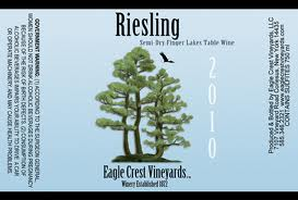 Eagle Crest Vineyards Semi Dry Riesling 2010