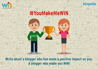 Emotions Xpressed_Blogadda #YouMakeMeWin My Nominations