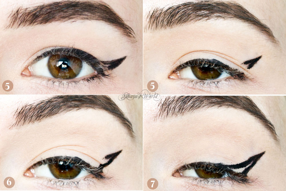 hooded eyes eyeliner tutorial