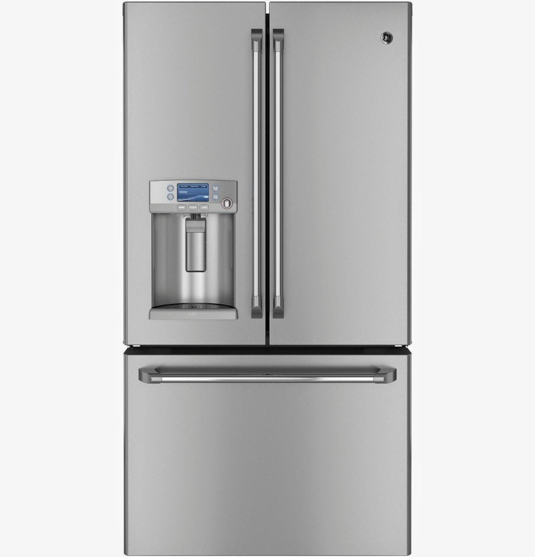 GE CYE23TSDSS Cafe 23.1 CF SS Counter Depth French Door Refrigerators