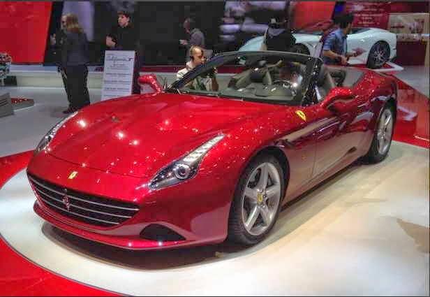 Gambar Mobil Ferrari Terbaru California T
