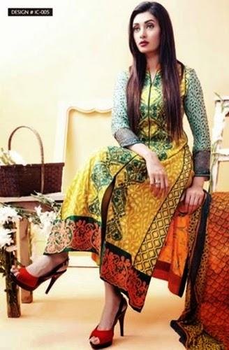 Amna Ismail Eid ul Azha Lawn 2014
