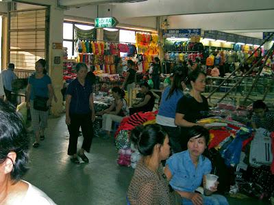 Market Dong Xuan Market - Hanoi - Vietnam