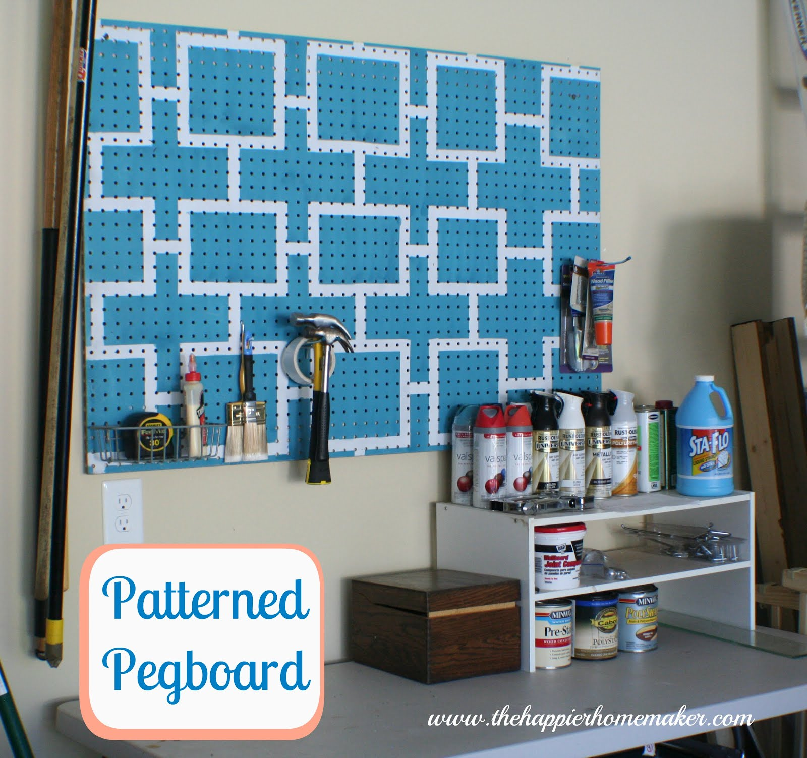 storage cabinet l garage shopnotes care featured on board tool pegboard inspiration peg