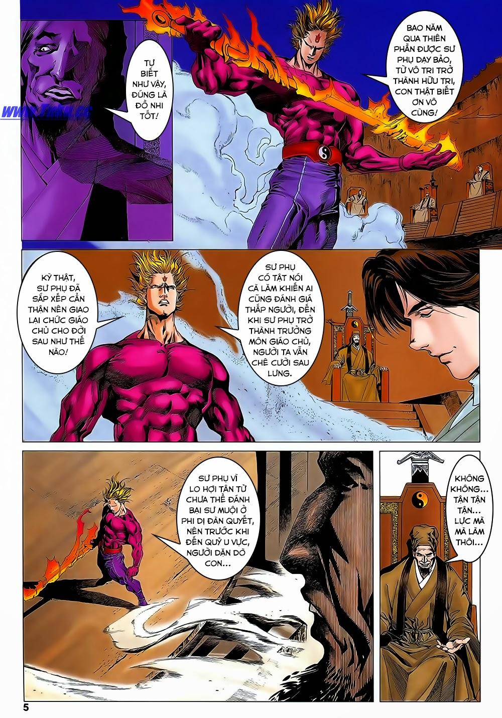 Lục Đạo Thiên Thư chap 31 - Trang 5