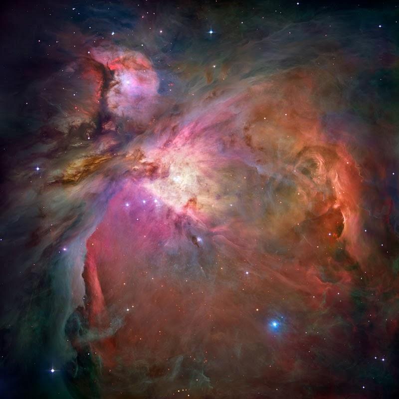 Nebulosa de Orion, constelação de Orion. Astro Iniciantes