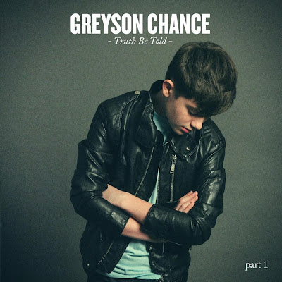 "Greyson CHance ""Truth Be Told"" EP Album Cover Art"