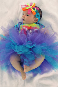 A tutu  on Jahna that my daughter Jenny made