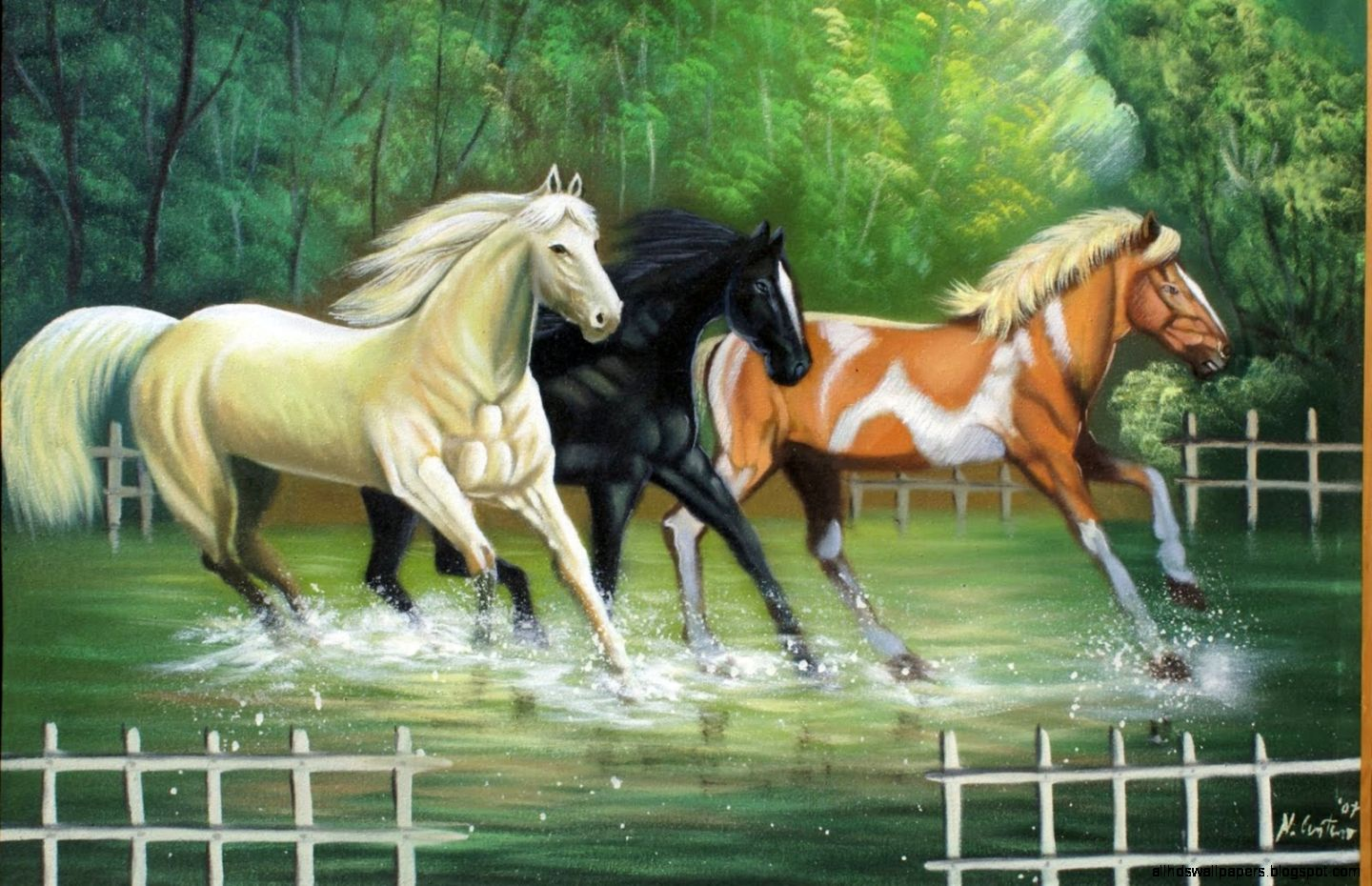 Cool   Wallpaper Horse Vintage - horse-painting-wallpapers  Perfect Image Reference_44922.jpg