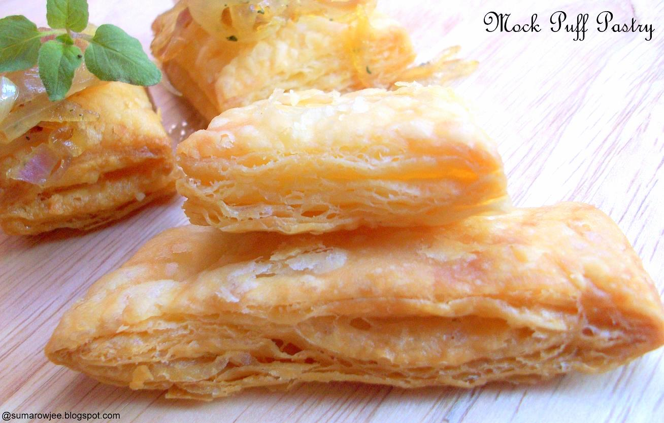 Cakes And More!: Mock Puff Pastry - Easy And Quick!