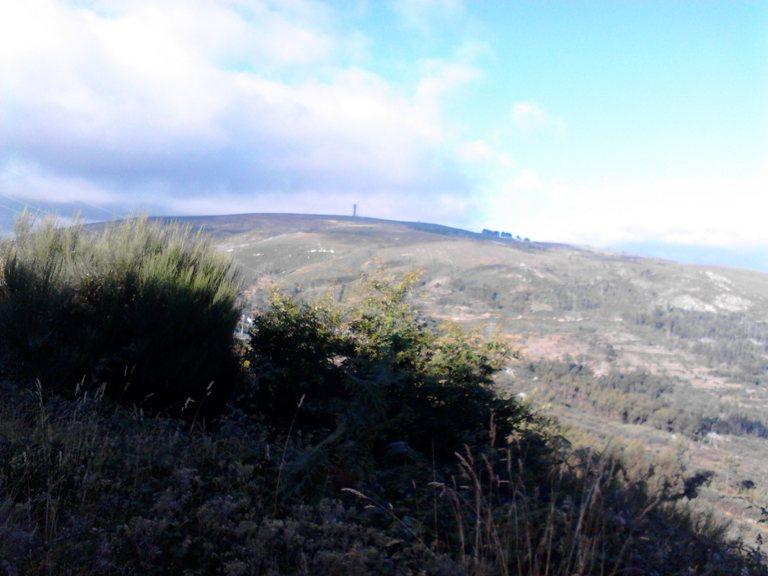 Um dos pontos mais altos da Serra da Freita