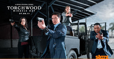 Cartaz da série Torchwood - Miracle Day, quarta temporada de Torchwood
