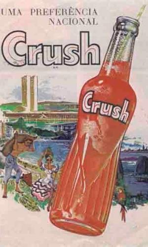 Propaganda do Refrigerante Crush - anos 80.