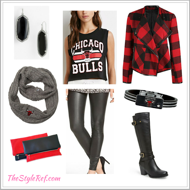 Chicago Bulls fan fashion