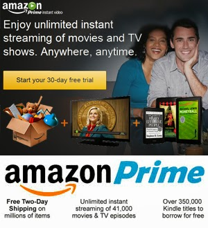 FREE Two-Day Shipping 10000 free videos 1000s of kindle books