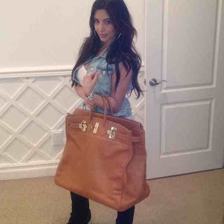 Kim Kardashian's new Hermes Bag