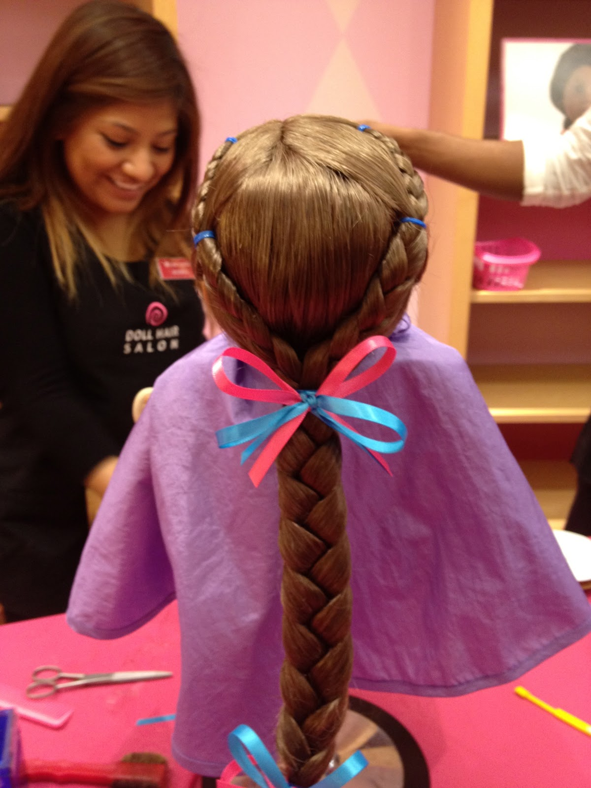 cute hairstyles for black females : Doll hairstyles, American girl dolls and Girl dolls on Pinterest