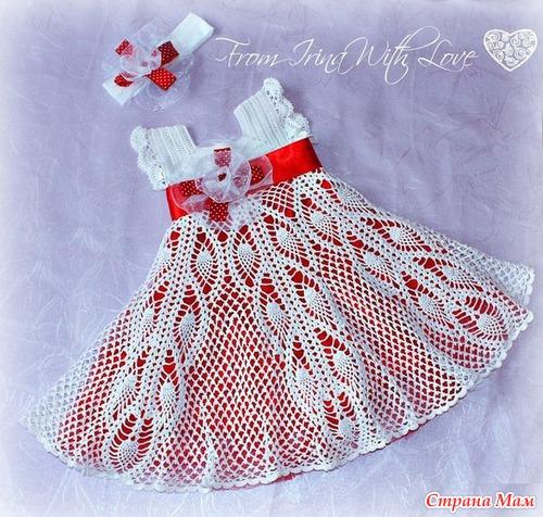 Puntos y puntadas vestido de nina