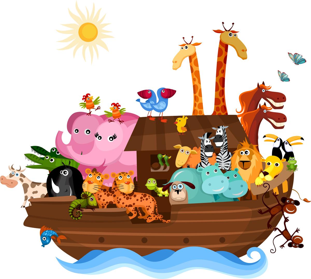 Arca de Noé dibujos