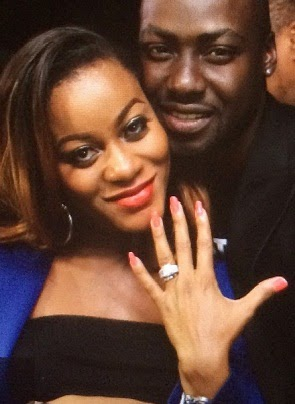 chris attoh damilola adegbite engaged