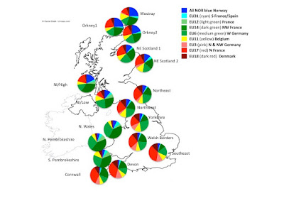 The original Brits are Basque? - Stephen Oppenheimer's DNA research - plus Bodmer update... Pre-Roman%2BFrench%2BInvasion