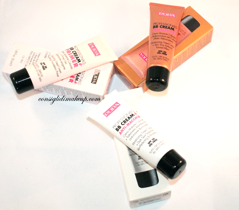 Review: BB Cream Antimacchia, Primer e Bronzer - Pupa