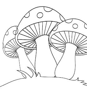 Dibujos de Hongos