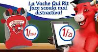 Concurs 2013 La Vache Qui Rit face scoala mai distractiva! - participa si castiga o tableta