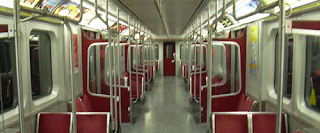 subway car interior