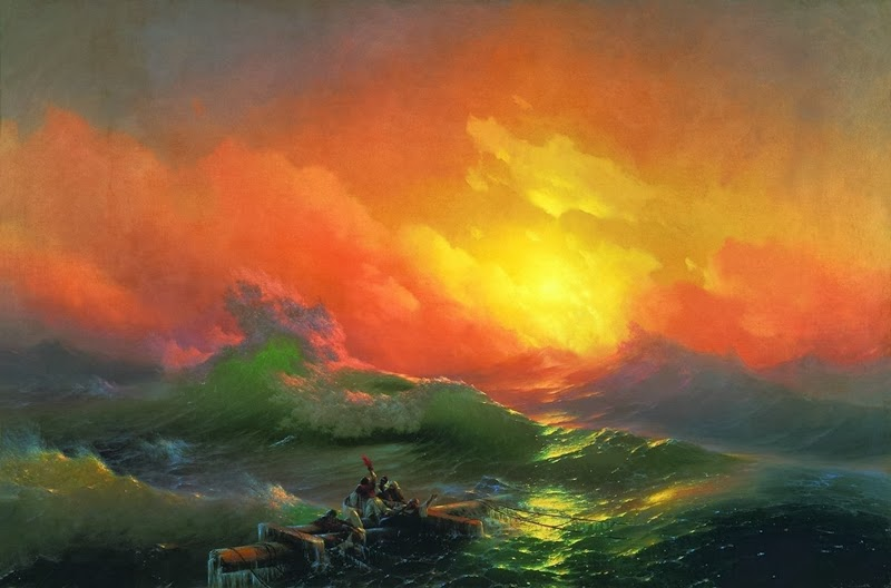 Ivan Constantinovich Aivazovsky - The Ninth WaveIvan Constantinovich Aivazovsky - The Ninth Wave