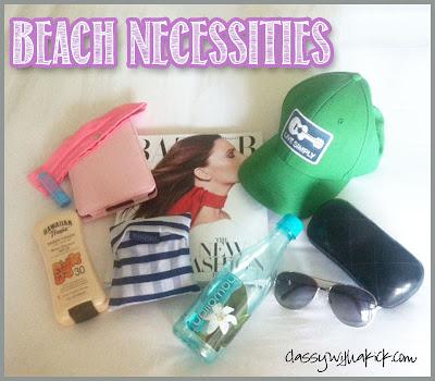 Beach Bag: Maybelline, Kindle, Lululemon, Baggu, Patagonia