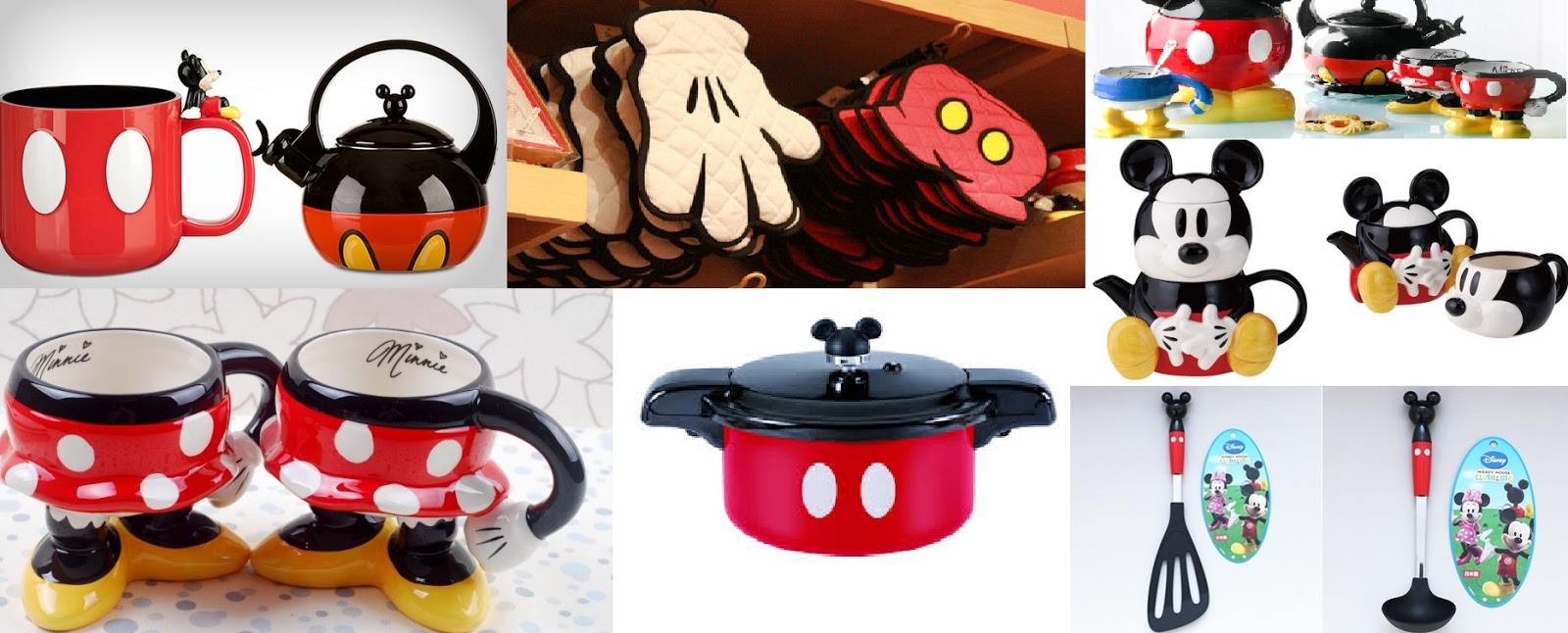 Levando o mickey mouse para casa for Mickey mouse kitchen accessories