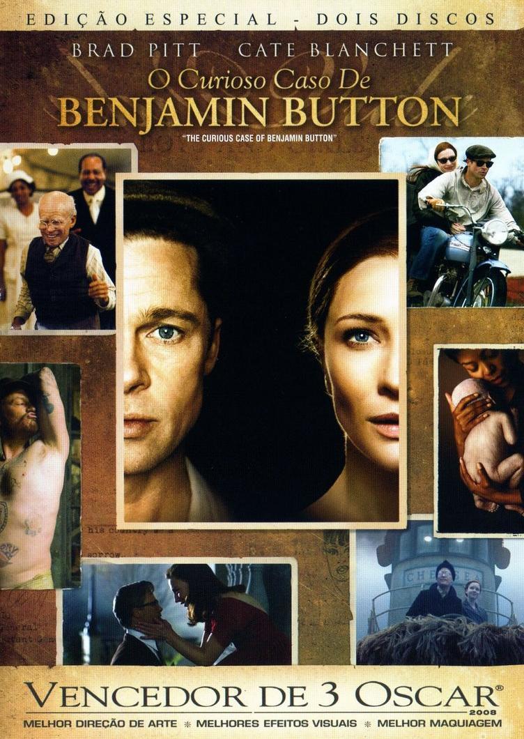 Capa O Curioso Caso de Benjamin Button
