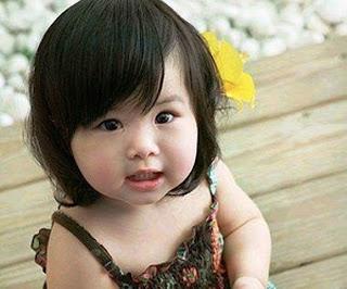 Foto bayi cantik lucu banget
